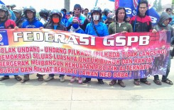 GSPB Tolak UU Pilkada Tak Langsung