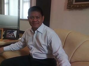 Ketua APINDO Kepri, Cahya, membentuk pasukan Garda Bima Sakti untuk mengamankan kepentingan pengusaha. Kredit: batamtoday.com