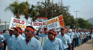 buruh venezuela tuntut nasionalisasi