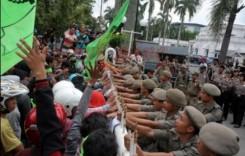 Tuntut Revisi UMP 2015, Buruh Sumut Sambangi Kantor Gubernur