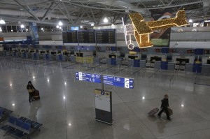 bandara athena sepi