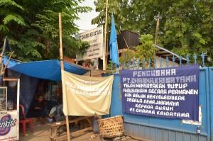 tenda perjuangan PT Dharma