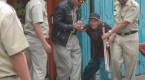 pengemis ditangkap polisi