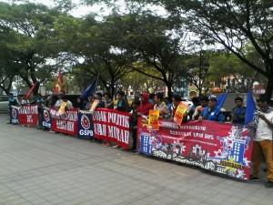 gspb dan pembebasan aksi bersama