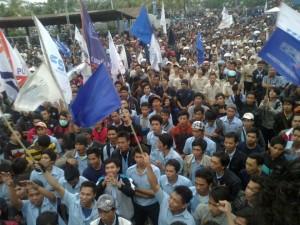 aksi hapus outsourcing cikarang 2012