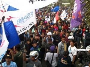 aksi buruh tahun 2012