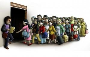 buruh migran ilegal