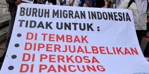 buruh migran menuntut