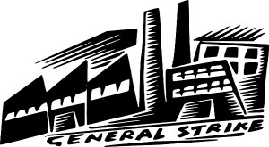pabrik mogok kerja