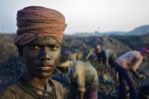 pekerja tambang batu bara india