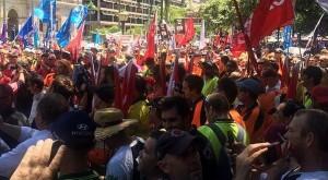 buruh australia protes maret 2015