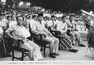 1 May di Alun-Alun Yogyakarta