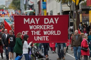 illustration of may day