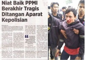 represi polisi terhadap buruh