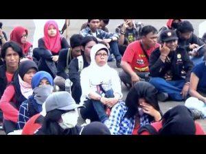 Video: Aliansi Mahasiswa Indonesia Tuntut Pendidikan Gratis