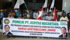 Gerindra Dukung Mogok Nasional Buruh, PPRI: Prabowo Tidak Bayar GajiBuruhnya