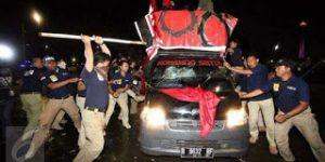 Buruh dan Aktivis Korban Pemukulan Polisi Malah Dijadikan Tersangka