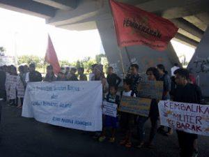 Mahasiswa Demo Tuntut Pembebasan 26 Aktivis