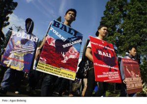 Aksi Tolak Reklamasi Serentak di Beberapa Kota