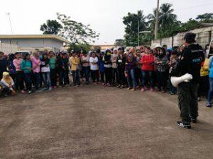 Pengusaha PT Seok Hwa Tolak Bayar THR, Buruh Bangun Tenda di Depan Pabrik