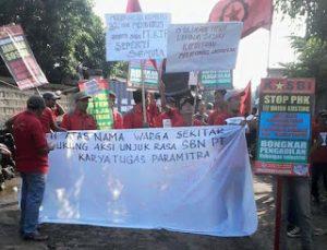 Puluhan Buruh Tangerang Di-PHK Karena Dirikan Serikat Buruh