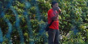 Buruh Demo Dukung Rekannya yang Dituduh Bocorkan Rahasia Perusahaan