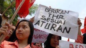 OPSI: Bayar THR Buruh 3 Minggu Sebelum Lebaran