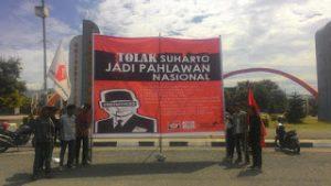 Gelora Demokrasi Tolak Soeharto Peroleh Gelar Pahlawan