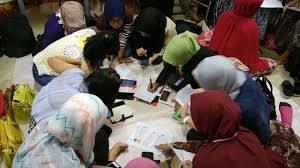 Kegiatan Belajar Bersama Buruh Migran di Hongkong
