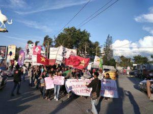 Mahasiswa Dukung Perjuangan Buruh