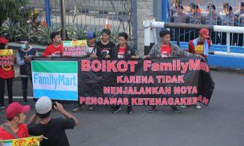 Anjuran Disnaker Menangkan Tuntutan Buruh PT FMI FamilyMart