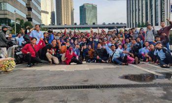 Akhirnya Buruh PT HRS Indonesia Bekerja Kembali