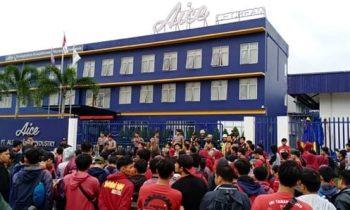 PHK Ratusan Buruh AICE Tidak Sah, Ini Penjelasan Serikat Buruh