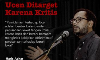 Lokataru Minta Bebaskan Ucen, Buruh PT. IWIP yang Ditangkap Polisi