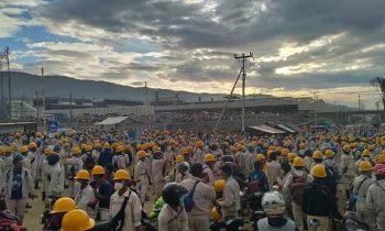 Mayday Berbuah Kriminalisasi Buruh PT. IWIP Ditengah Pandemi
