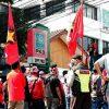 Serikat Buruh Kembali Turun Aksi Membongkar Kedok Pengusaha Aice